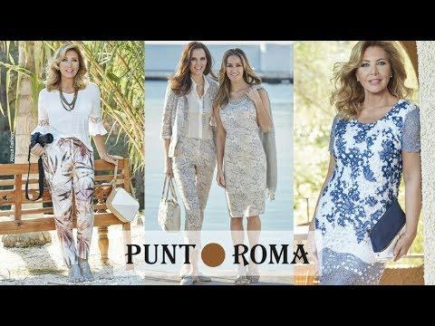 Última Moda De Mujer De Punt Roma | Tendencias Primavera Verano 2019 Para Señoras Mayores De 50 Años