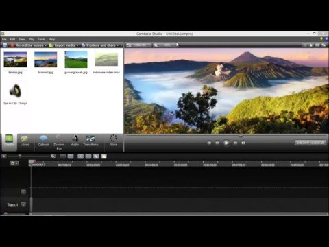 Tutorial Edit Video dengan Camtasia Studio 8
