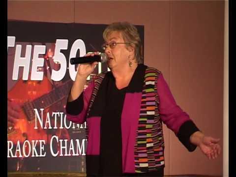 "Barbara Hieatt - ""Crazy"" - NZ 50PLUS Karaoke Champs"