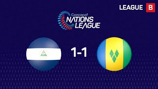 Highlights #CNL: Nicaragua 1 - 1 St. Vincent and the Grenadines