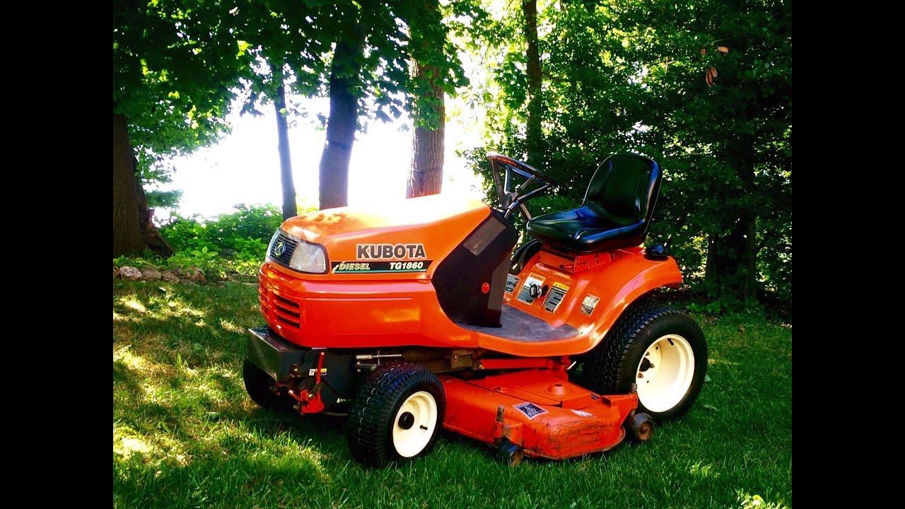 Kubota Tgsel Lawn Garden Tractor