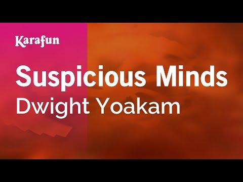 Karaoke Suspicious Minds - Dwight Yoakam *