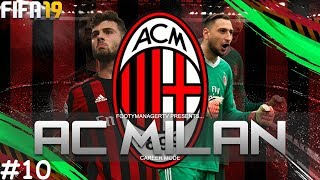 Newly created Fifa video from FootyManagerTV: THE GAME OF CRAZY GOALS!! | FIFA 19 Career Mode: AC Milan #10