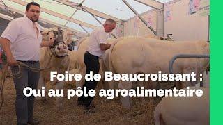 Lancement du Pôle Agroalimentaire_Foire de Beaucroissant 2016_Département de l'Isère