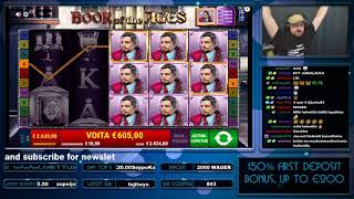 Super Big Win From Book Of The Ages Slot!!