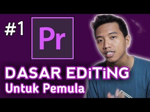 Cara Edit Video di Adobe Premiere Pro Untuk Pemula   Part 1 thumbnail