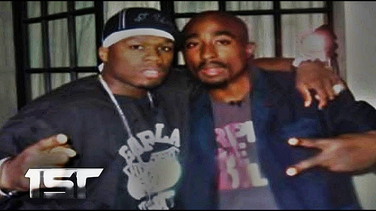 tupac and 50 cent images