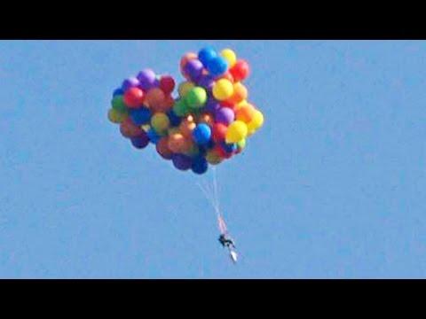 'Balloon man' explains motive behind Calgary Stampede stunt