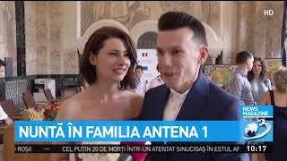 Nuntă în familia Antena 1. Mihaela Călin s-a căsătorit