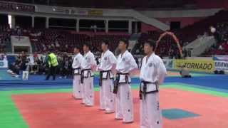 ITF World Taekwon Do Championship 2009    North Korea Male Team Pattern 2