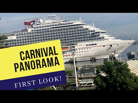 Carnival Panorama First Look