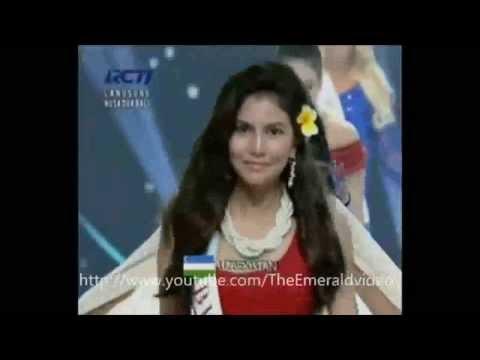 Clip Lại Hương Thảo dự thi Hoa hậu Thế giới 2013