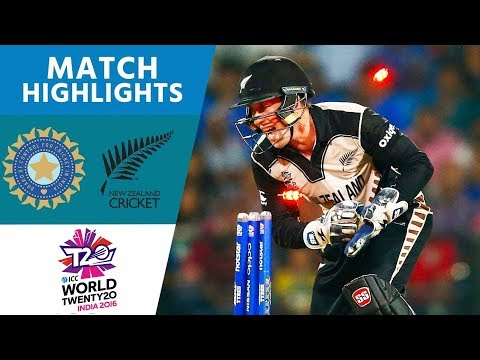 ICC WT20 Cricket  New Zealand vs India Highlights