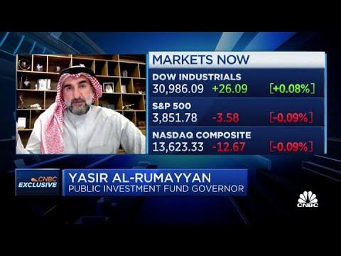 Saudi wealth fund chief on five-year plan to reach $1 trillion assets under management
