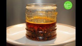 Cách làm Ớt Satế – Chilli Oil Recipe
