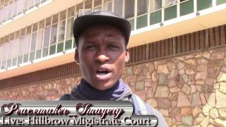 Fees Must Fall 2016 Hillbrow Magistrate Court(12/10/2016)