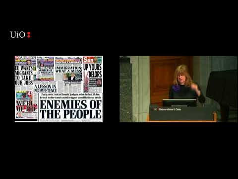 Catherine Fieschi - The hidden wiring of populist politics (Oslo Nov 2017)