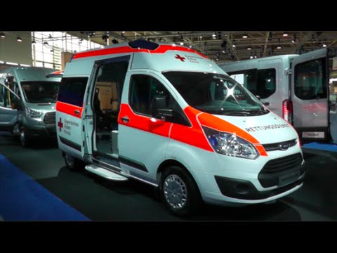 ford transit custom ambulance 2015 in detail review walkaround interior exterior