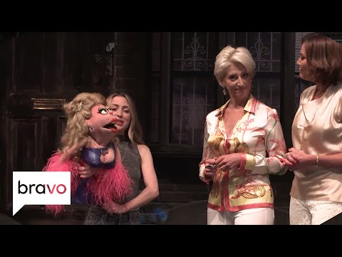 RHONY: The 'Wives Visit Avenue Q and Lucy the Slut on Broadway! | Bravo