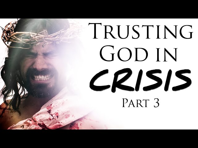 You Don't Have to Be PERFECT for God to Bless You: Part 3 of Trusting God in CRISIS