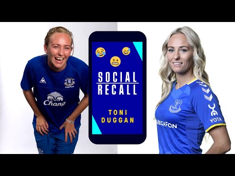 TONI DUGGAN: SOCIAL RECOVERY!  |  LIONESSES STRIKER LOOKS BACK INSTAGRAM SNAPS WHEN RETURNING TO EVERTON