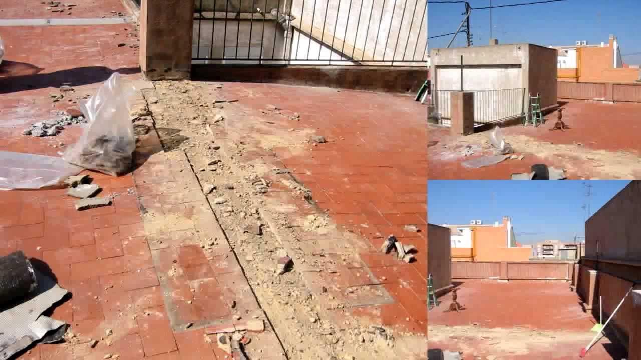 Impermeabilizar terraza valencia impermeabilizaci n de for Poner suelo terraza exterior