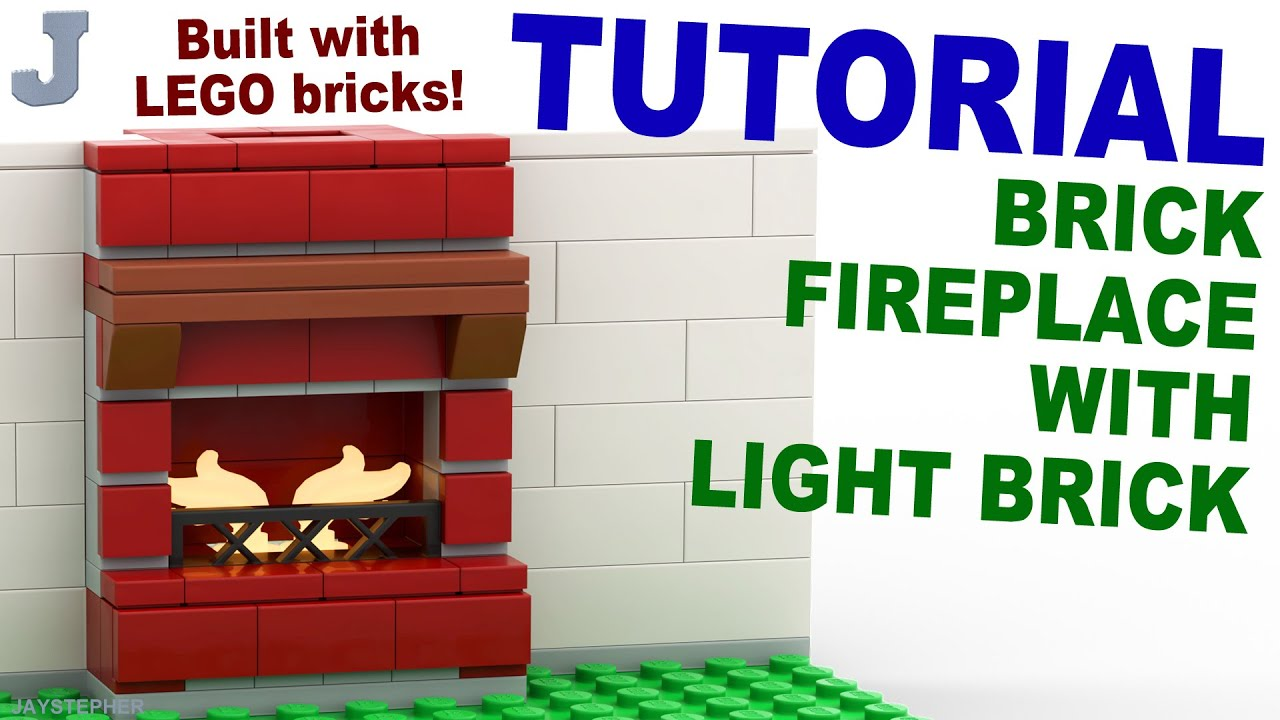 Tutorial Lego Fireplace With Light Brick Cc Youtube
