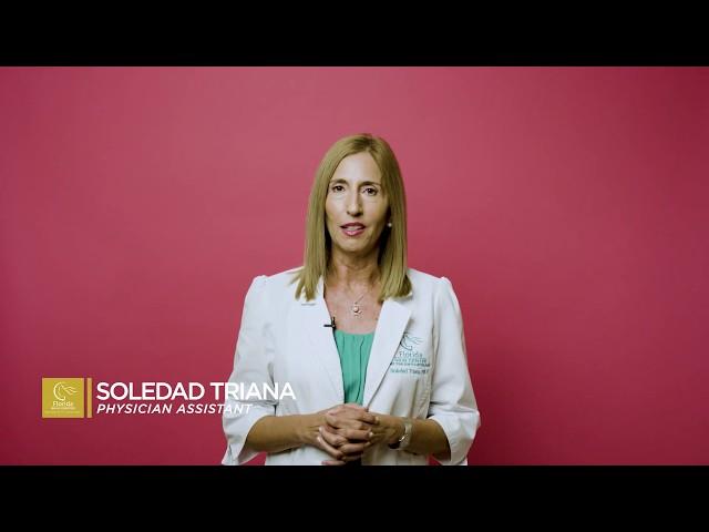 Soledad Triana, PA: Treatments for Melasma
