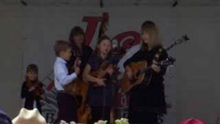 """Anderson Family plays """"Think of What You"""