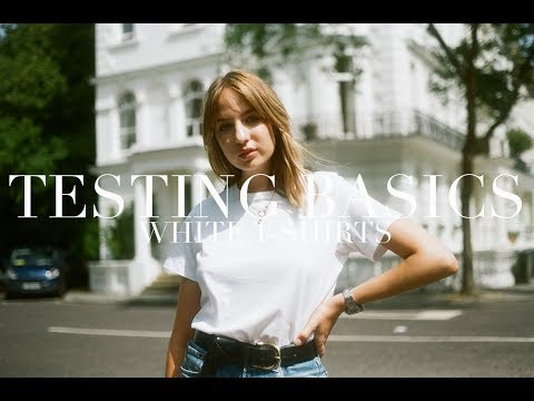 Testing Basics | White T-Shirts