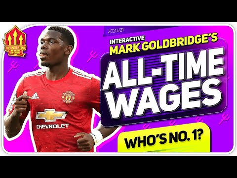 Man Utd's BEST PAID Players Ever! Pogba, Rooney or Zlatan?