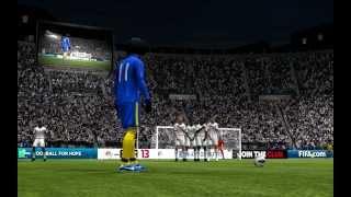 90 min Brazzers team pro-online free kick by Vega