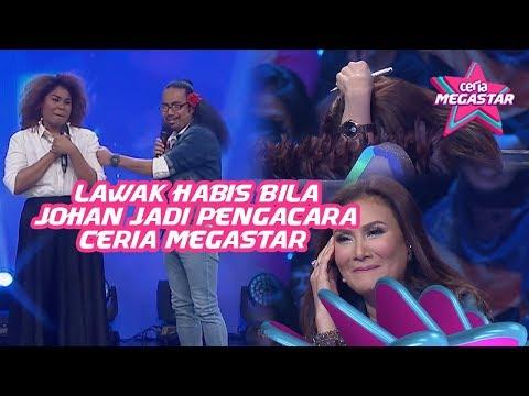 Kecoh dan Lawak Habis Bila Johan Jadi Pengacara Ceria Megastar ! | Mas Idayu, AC Mizal & Pak Nil