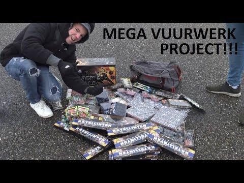 GROOTSTE CAT 1 VUURWERK PROJECT OOIT!!!