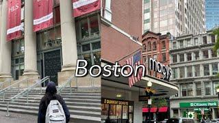 미국Vlog | 보스턴 여행 | 뉴저지 | 미국동부 |…