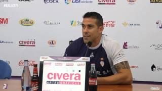 Rueda de prensa de Toni García y Servando previa al Deportivo