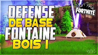 Fortnite: I'm doing my 1st Base Defense on Fontainebois in Saving the World - Defense #1!