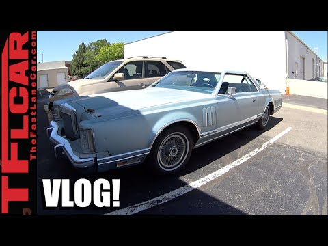 What it's Like to Drive a 1978 Lincoln Continental Mark V Diamond Jubilee Edition!