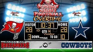 NFL Football 2016 Recap: SNF OVERTIME WK 15: Buccaneers vs. Cowboys #LouieTeeLive