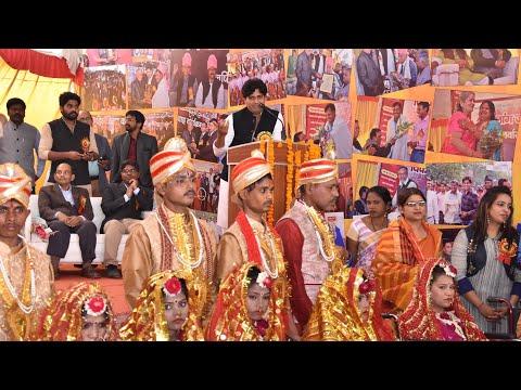 13 विकलांग जोड़ों की शादियाँ ॥ इमरान प्रतापगढ़ी और उनके सामाजिक कार्य ॥ Allahabad ॥ 4 Feb 2018