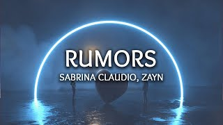 Sabrina Claudio, ZAYN ‒ Rumors (Lyrics)