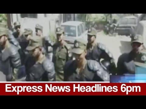 Express News Headlines - 06:00 PM   3 April 2017