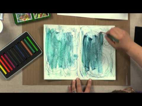 Cloth Paper Scissors Workshop - Textured Backgrounds: Art Journaling Tips & Tricks - Paula Philips