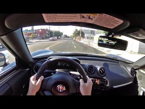 2015 Alfa Romeo 4C - WR TV POV City Drive