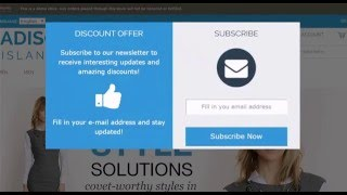 Magento Newsletter Pop-Up extension demo - Plugin Company