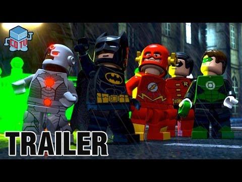 LEGO BATMAN The Movie DC Superheroes Unite Official Trailer