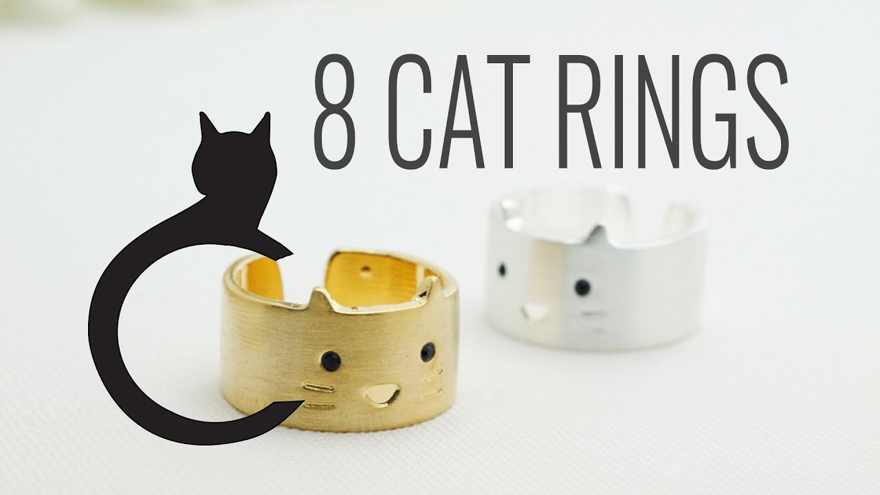Gifts For Cat Lovers The Ring Birthday Her