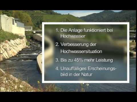 Das bewegliche Wasserkraftwerk