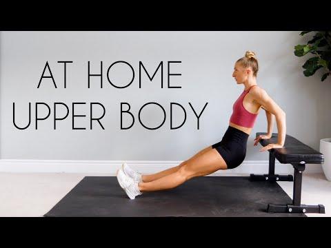 15 Min BODYWEIGHT Upper Body Workout AT HOME (No Equipment)