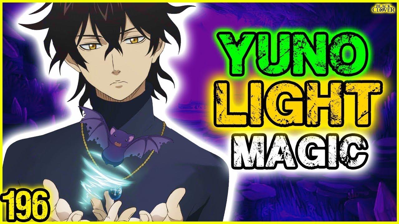 YUNO Gets Light Magic - Black Clover 196 (Theory) - YouTube